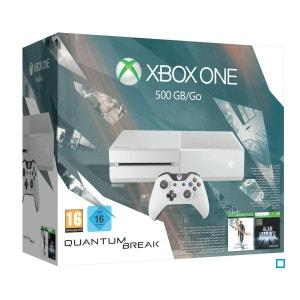 XBOX ONE (500 Go) Blanche + Quantum Break Edition Spéciale XBOX One MICROSOFT