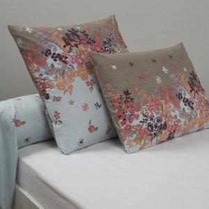 Fronha de travesseiro em percal estampado Zadii La Redoute Interieurs