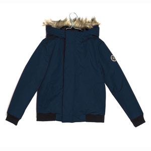Padded Jacket, Faux Fur-Trimmed Hood,10-16 Yrs LE TEMPS DES CERISES