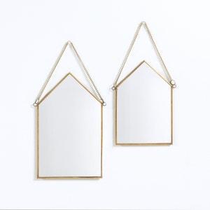 Lote de 2 espejos forma casa, Uyova La Redoute Interieurs