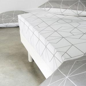Drap-housse, pur coton imprimé, Vidmey La Redoute Interieurs