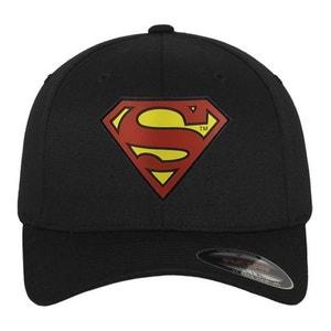 Casquette Incurvée Superman x Flexfit Noir MISTER TEE
