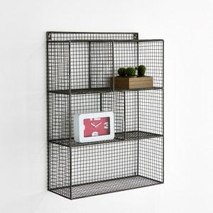 Estantería de pared Aréglo de filamentos de metal 5 compartimentos La Redoute Interieurs