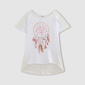 Camiseta Dream con estampado de plumas LE TEMPS DES CERISES