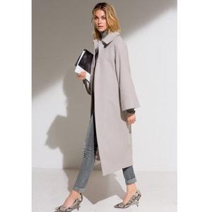 Abrigo largo 80% lana LAURA CLEMENT
