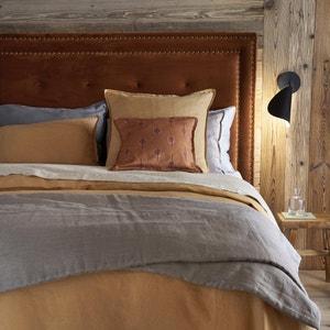 Cabecero de cama de terciopelo, altura 120 cm, Hampstead