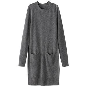 Vestido direito, tricot La Redoute Collections