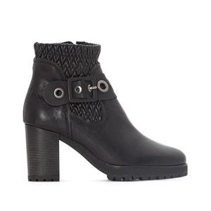 Leren boots Sira BUNKER
