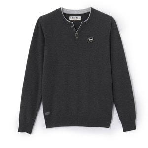 Trui in fijn tricot met tuniekhals KAPORAL 5