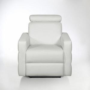 Elektrische relax zetel in leer, Hyriel La Redoute Interieurs