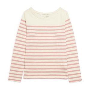T-shirt marinière en coton issu de l'agriculture biologique MONOPRIX KIDS