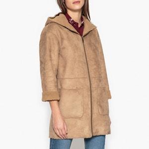 Manteau à capuche zippé GROSEILLE GERARD DAREL