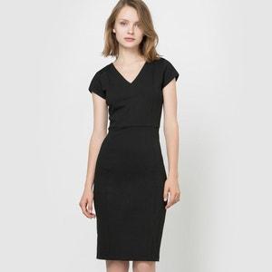 Getailleerde jurk in milanotricot R édition