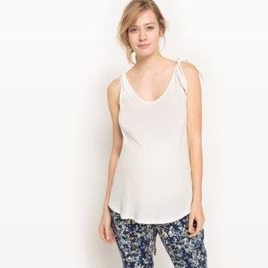 T-shirt débardeur de grossesse, maille R essentiel