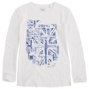 T-shirt imprimé manches longues PEPE JEANS