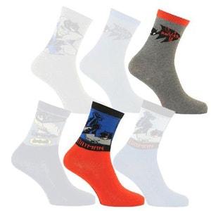 2 Paires de chaussettes Batman taille 35-38 ARDO