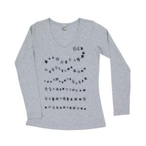 Tee-shirt femme WAVY STARS 64