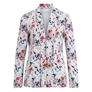 Jacke mit floralem Print VILA