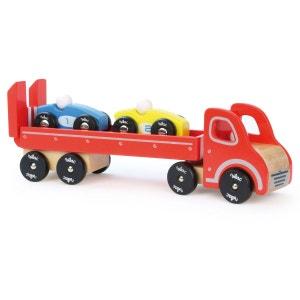 Camion porte-voitures avec 2 véhicules VILAC