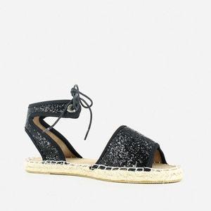 Sandales plates façon espadrille JONAK