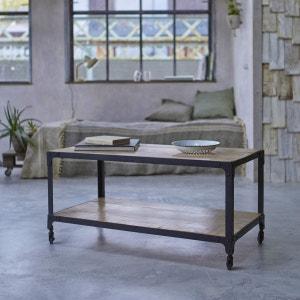Table basse en métal 100x50 de style Industriel TIKAMOON