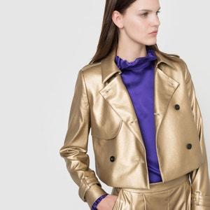 Cropped Jacket INES OLYMPE MERCADAL X LA REDOUTE MADAME