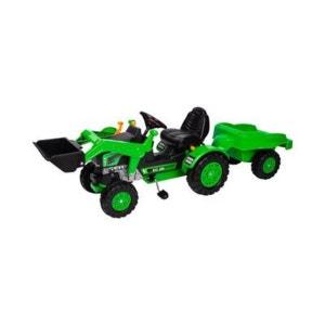 BIG Le tracteur Jim de BIG + la remorque véhicule BIG