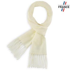 Echarpe FELY Ecru uni - Fabriqué en France QUALICOQ 18e2321f2f9