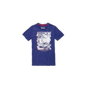 Tee-shirt T-OVER MC JR Patriot Blue TEDDY SMITH