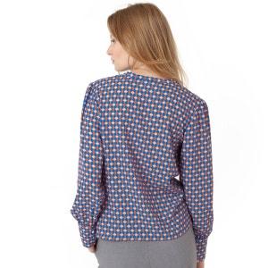 Blusa estampada SOFT GREY
