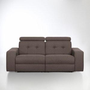 Canapé de relaxation manuel Julema en tissu chiné La Redoute Interieurs