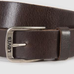 Ceinture en cuir, Classic Top logo bukkle LEVI'S