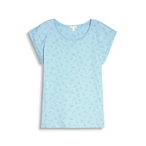 Short-Sleeved Printed T-shirt ESPRIT