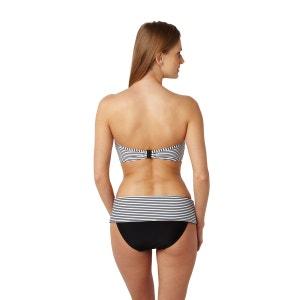 Anya Stripe Turn-Down Bikini Briefs PANACHE BAIN