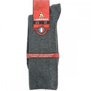 Chaussettes homme grande taille Coton, Lycra, Polyamide LABONAL