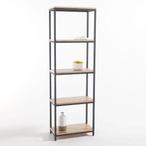 Etagère 5 tablettes métal et bois, Talist La Redoute Interieurs