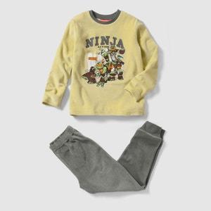 Pyjama velours TORTUES NINJA, 2 - 12 ans TORTUES NINJA