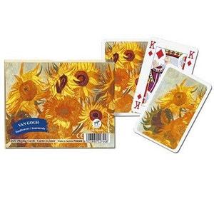 Jeu de cartes : Coffret de 2 x 55 cartes : Les tournesols de Van Gogh PIATNIK