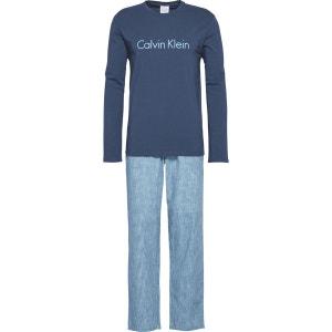 Pyjama long, imprimé CALVIN KLEIN