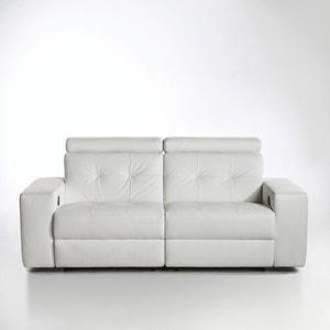Canapé de relaxation manuel Julema en cuir La Redoute Interieurs