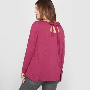 Camiseta de manga larga de algodón modal con espalda fantasía CASTALUNA
