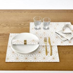 Set de table imprimé (lot de 2) NORDIC STAR La Redoute Interieurs