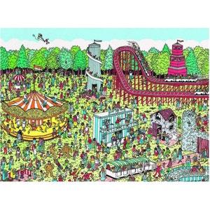 Où est Charlie - Puzzle 500 Pièces - A la Fête Foraine - RAV87114 NATHAN