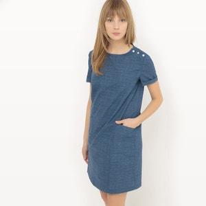 Vestido direito, algodão leve R essentiel