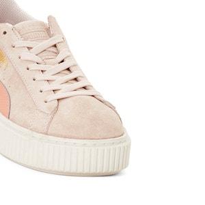Plateau-Sneakers Jr Suede Platform Snk PUMA