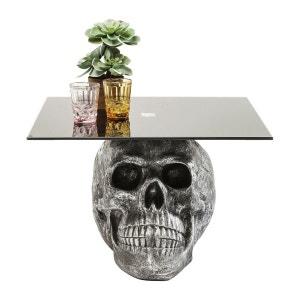 Table basse Skull Rockstar by Geiss 60x60 cm Kare Design KARE DESIGN