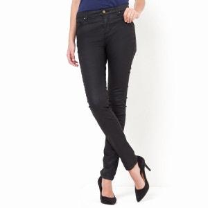 Pantalon slim enduit La Redoute Collections