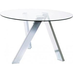 Table Ronde Verre Mikado 120 cm Kare Design KARE DESIGN