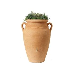 Kit Amphore Antik - Bac à plantes + collecteur + robinet - 360 L Sable GARANTIA