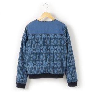 Pure Cotton Zipped Blouson Jacket R teens